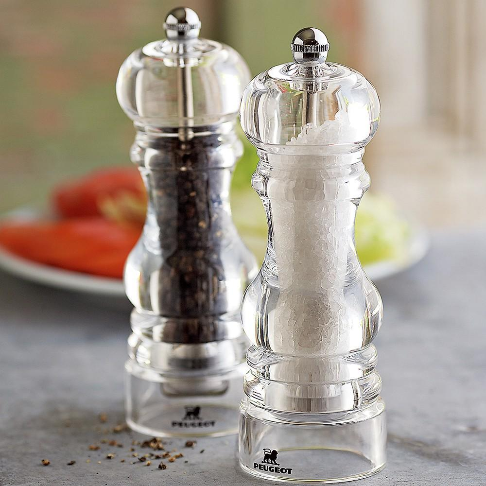 Peugeot Nancy Acrylic Salt & Pepper Mills
