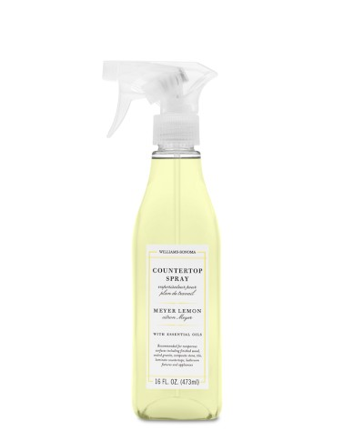 Williams Sonoma Essential Oils Countertop Spray, Meyer Lemon