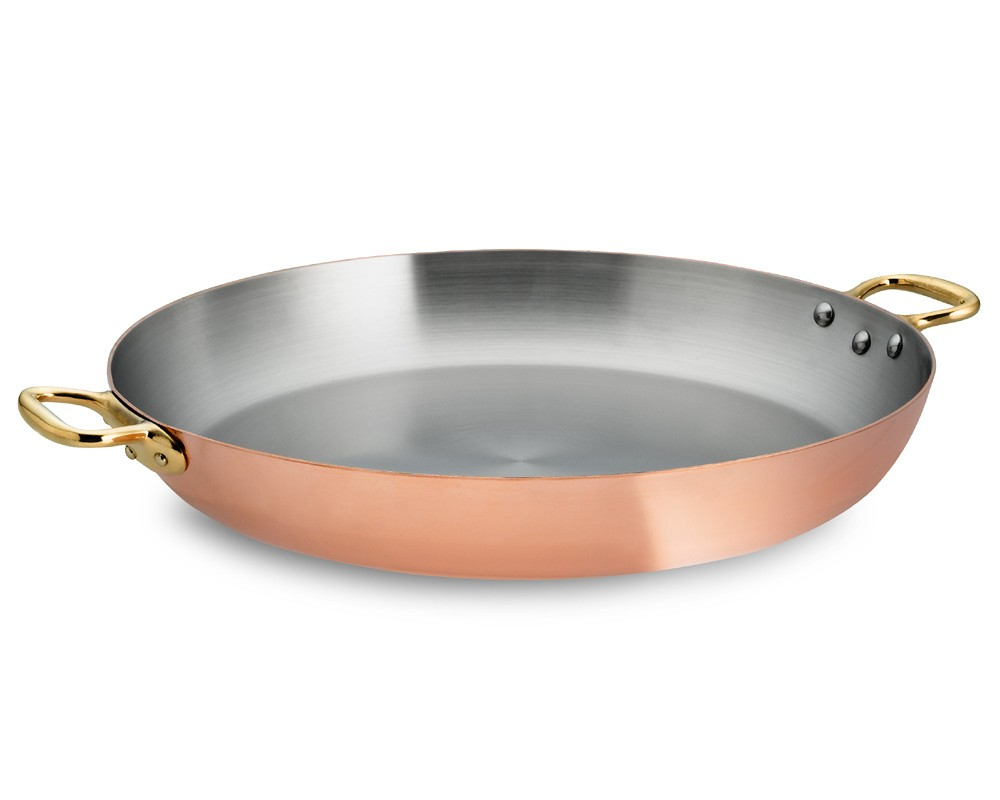 Mauviel Copper Paella Pan