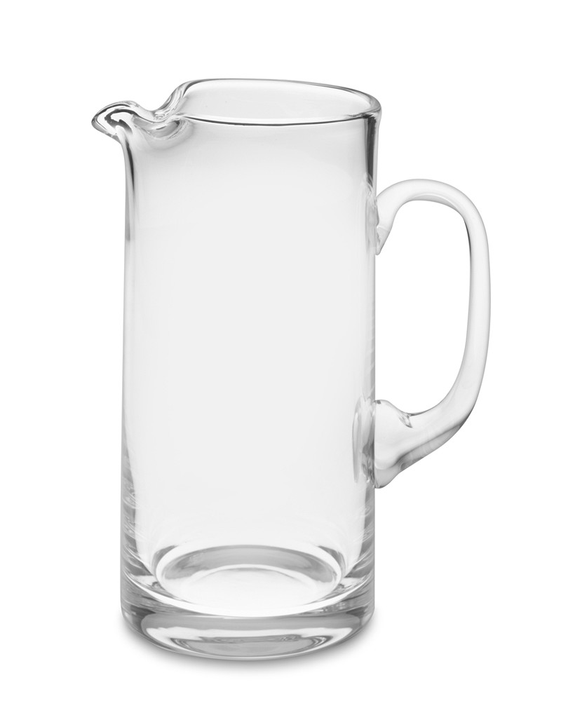 Tall Glass Jug