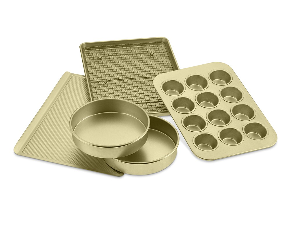 Williams Sonoma Goldtouch® NS 6-Piece Essentials Bakeware