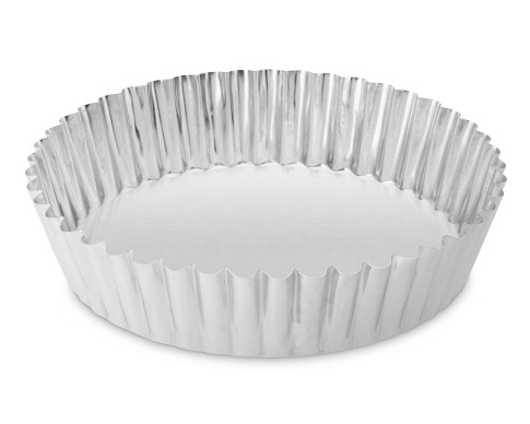 Gobel Standard Traditional Finish Round Quiche Pan