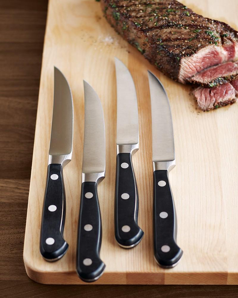 Wüsthof Classic 4-Piece Steak Knife Set