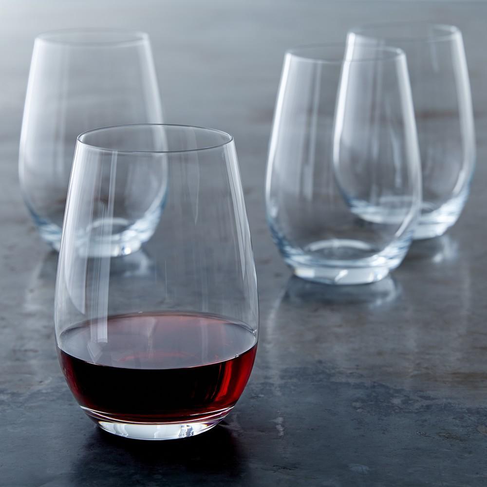 Williams Sonoma Open Kitchen Stemless Red Wine Glass