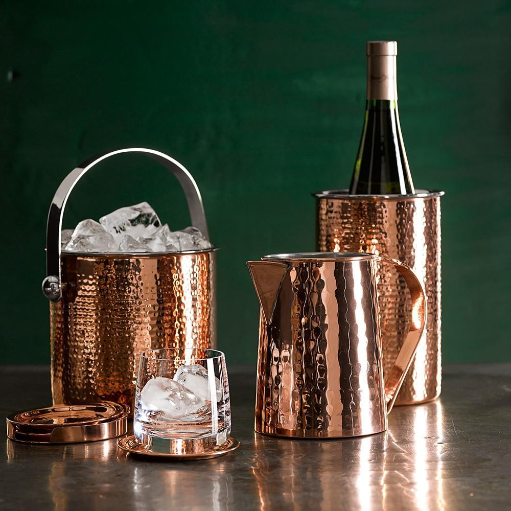 Hammered Copper Wine Chiller Williams Sonoma Au