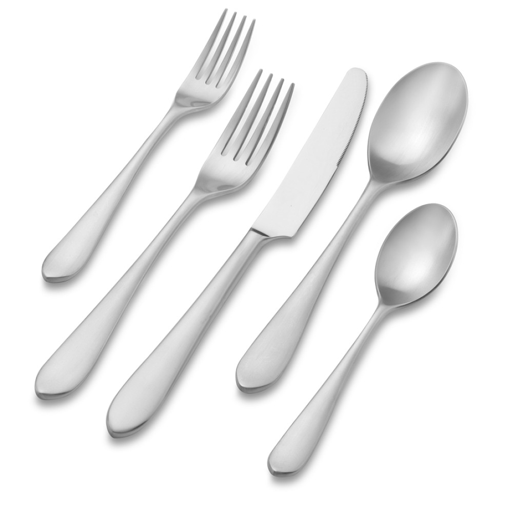 Flute Cutlery Place Setting