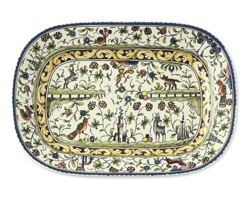 Provence Hand Painted Serving Platter