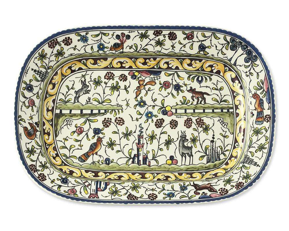 Provence Hand Painted Serving Platter Williams Sonoma Au