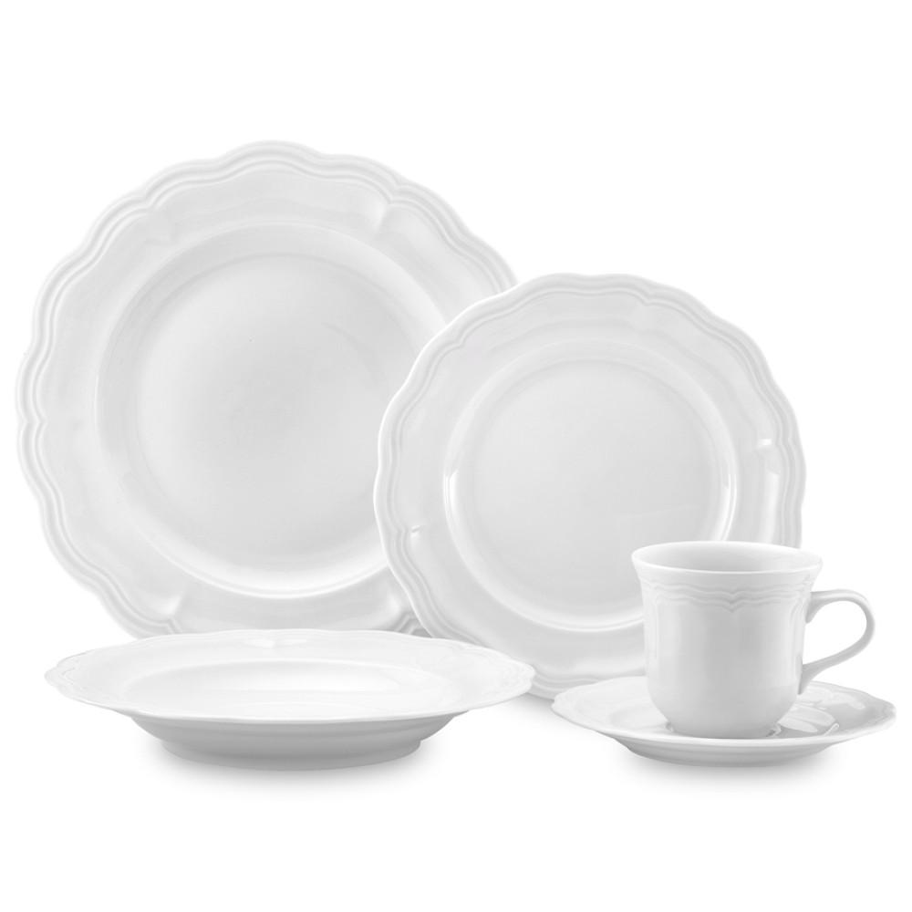 Pillivuyt Queen Anne Porcelain Dinnerware Collection