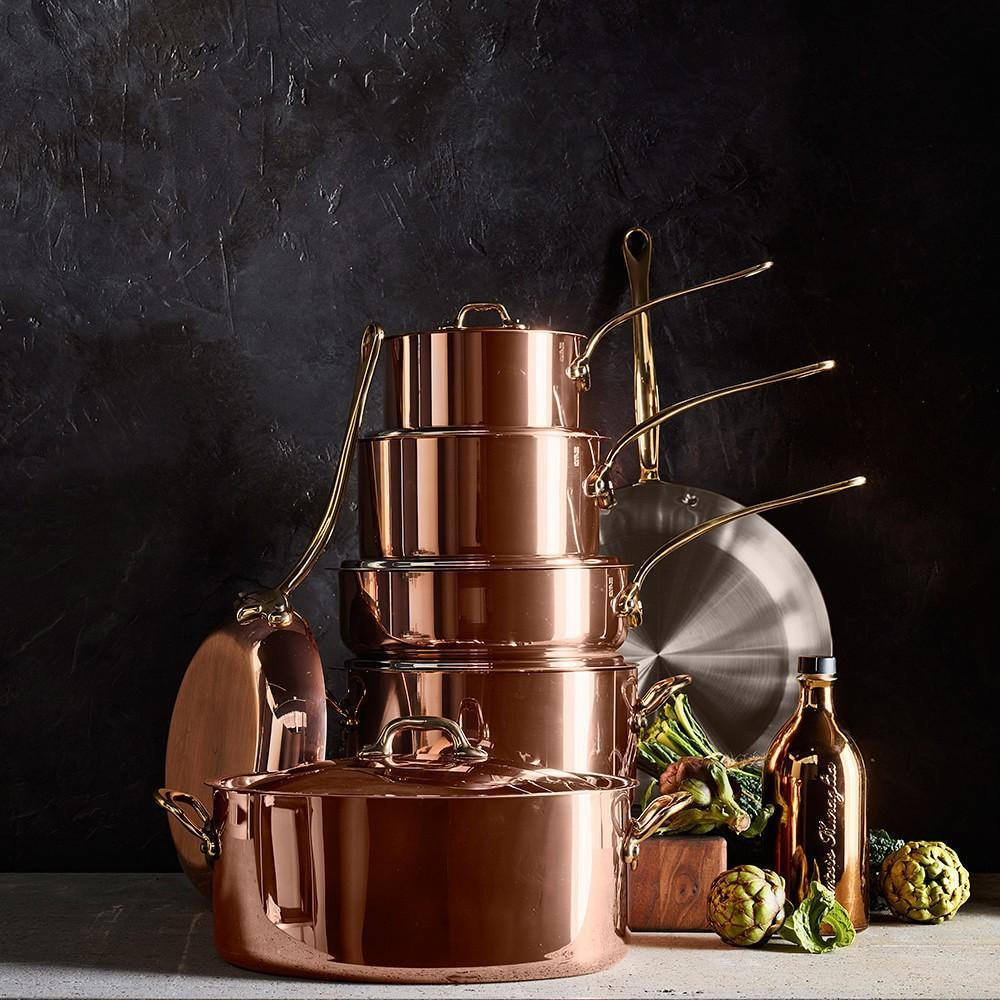 Mauviel Copper 12 Piece Cookware Set Williams Sonoma Au