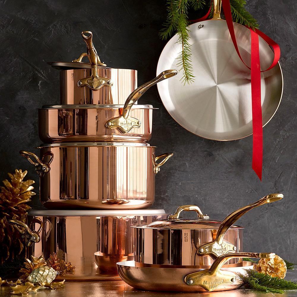 Mauviel Copper 12 Piece Cookware Set Williams Sonoma Au