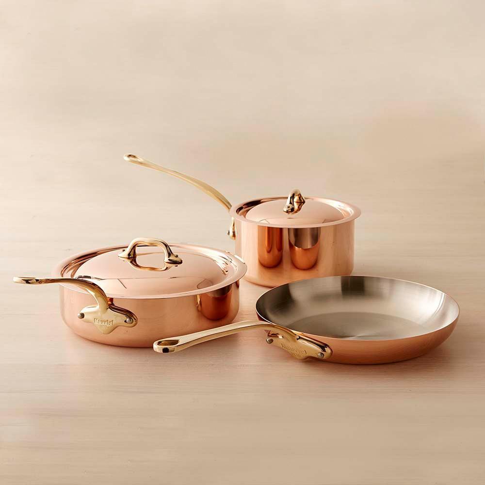 Mauviel Copper 5-Piece Cookware Set, Small