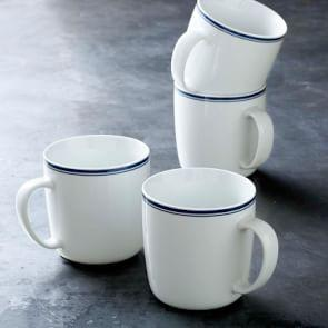 Williams Sonoma Open Kitchen Bistro Mugs, Blue
