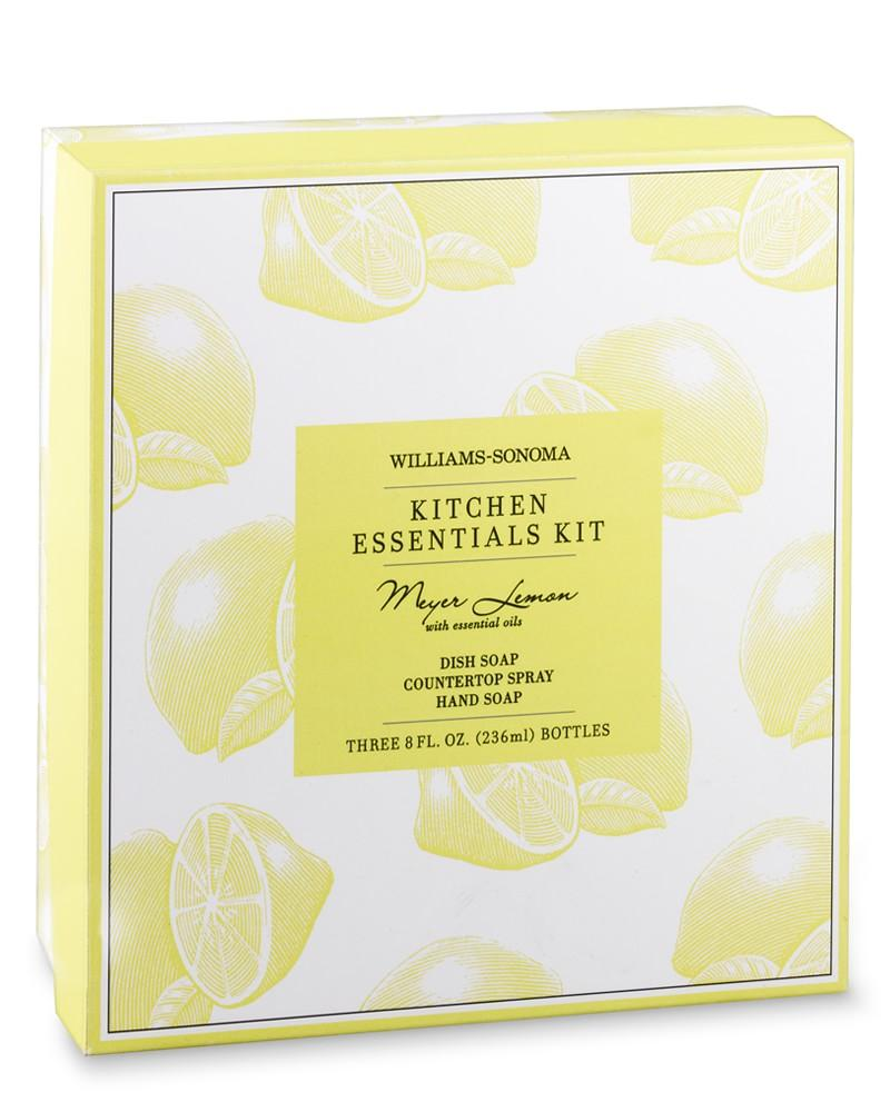 Williams Sonoma Essential Oils Cleaning Kit, Meyer Lemon
