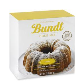 Williams Sonoma Lemon Bundt® Cake Mix
