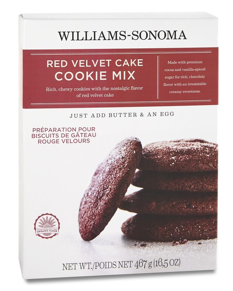 Williams Sonoma Red Velvet Cookie Mix