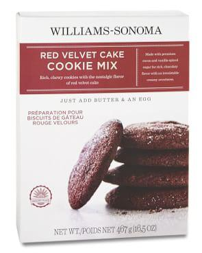 Williams Sonoma Red Velvet Cookie Mix
