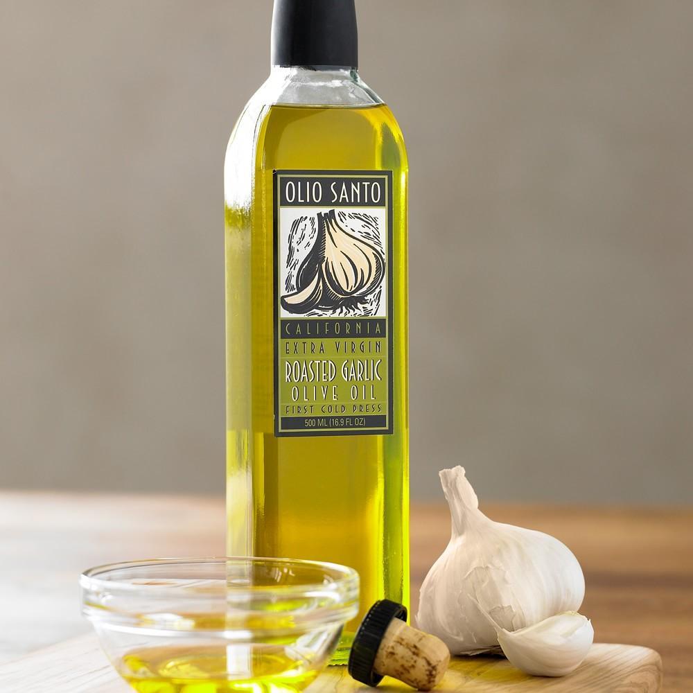 Olio Santo Garlic Extra Virgin Olive Oil