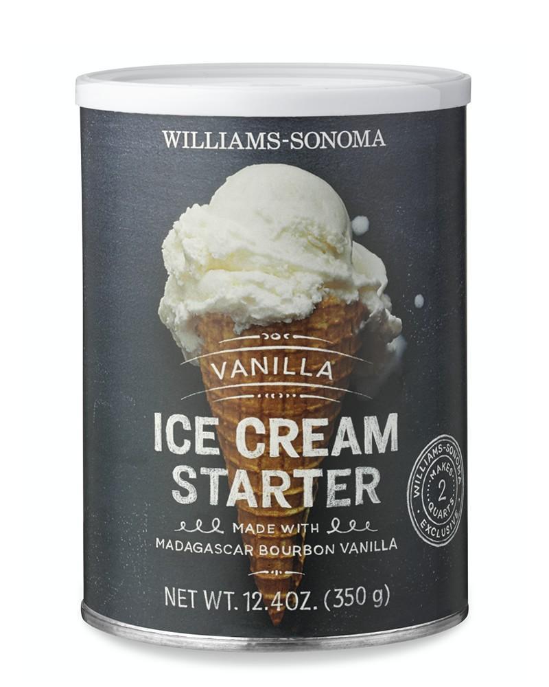 Williams Sonoma Vanilla Ice Cream Starter, Vanilla