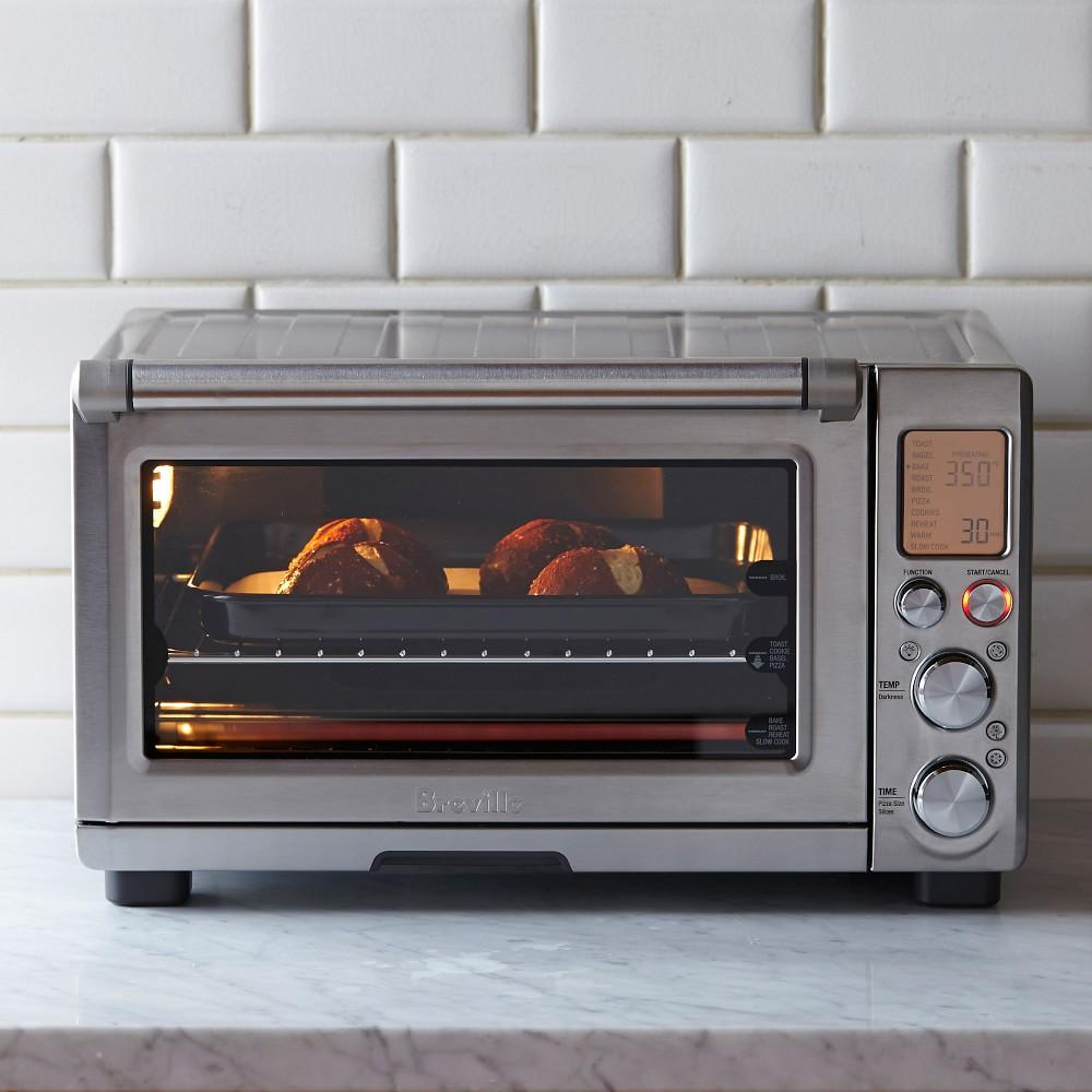 Breville Stainless Steel Smart Oven Pro With Light Williams Sonoma Au