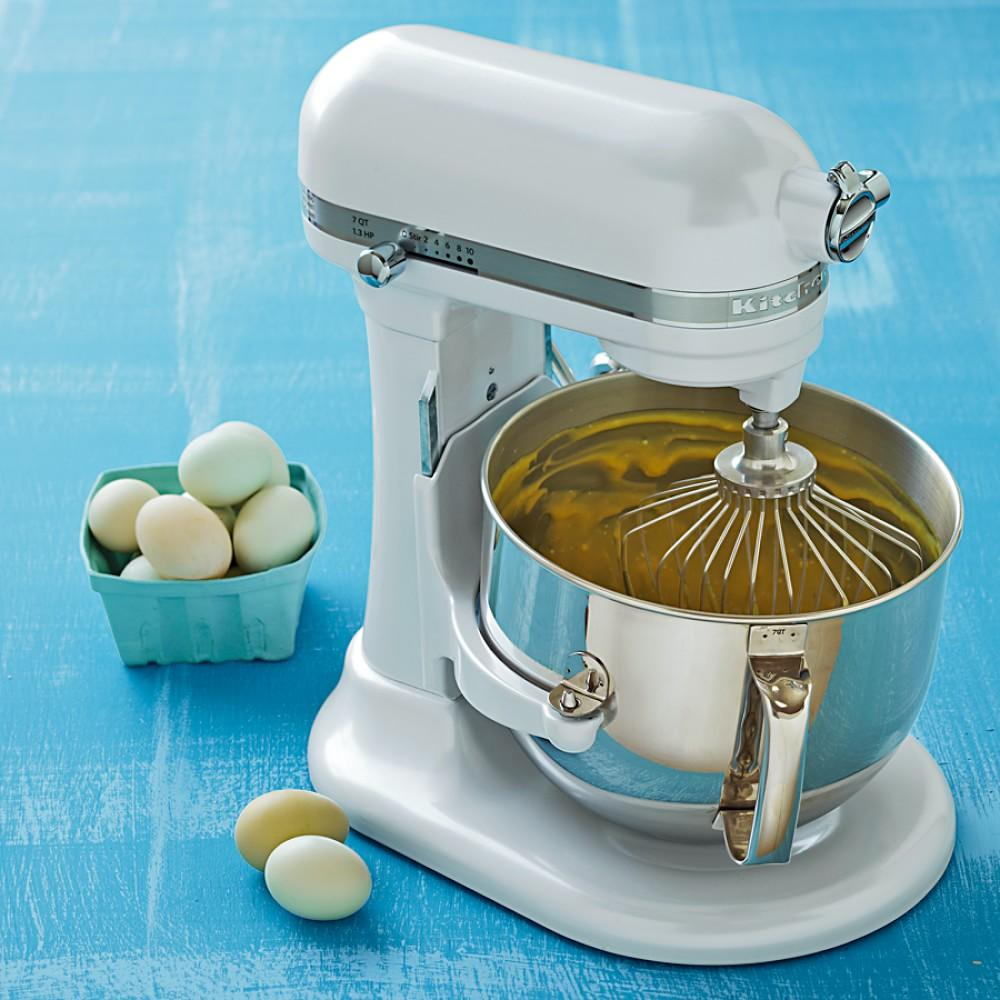 KitchenAid Pro Line® Stand Mixer, 6.9 L, Frosted Pearl