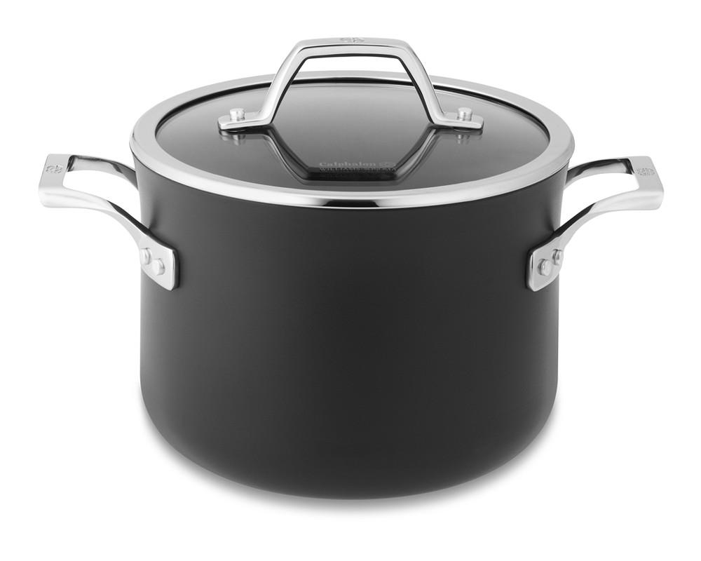 Calphalon Elite Nonstick Soup Pot Williams Sonoma Au