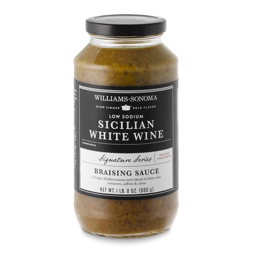 Williams Sonoma Low-Sodium Braising Base, Sicilian White Wine