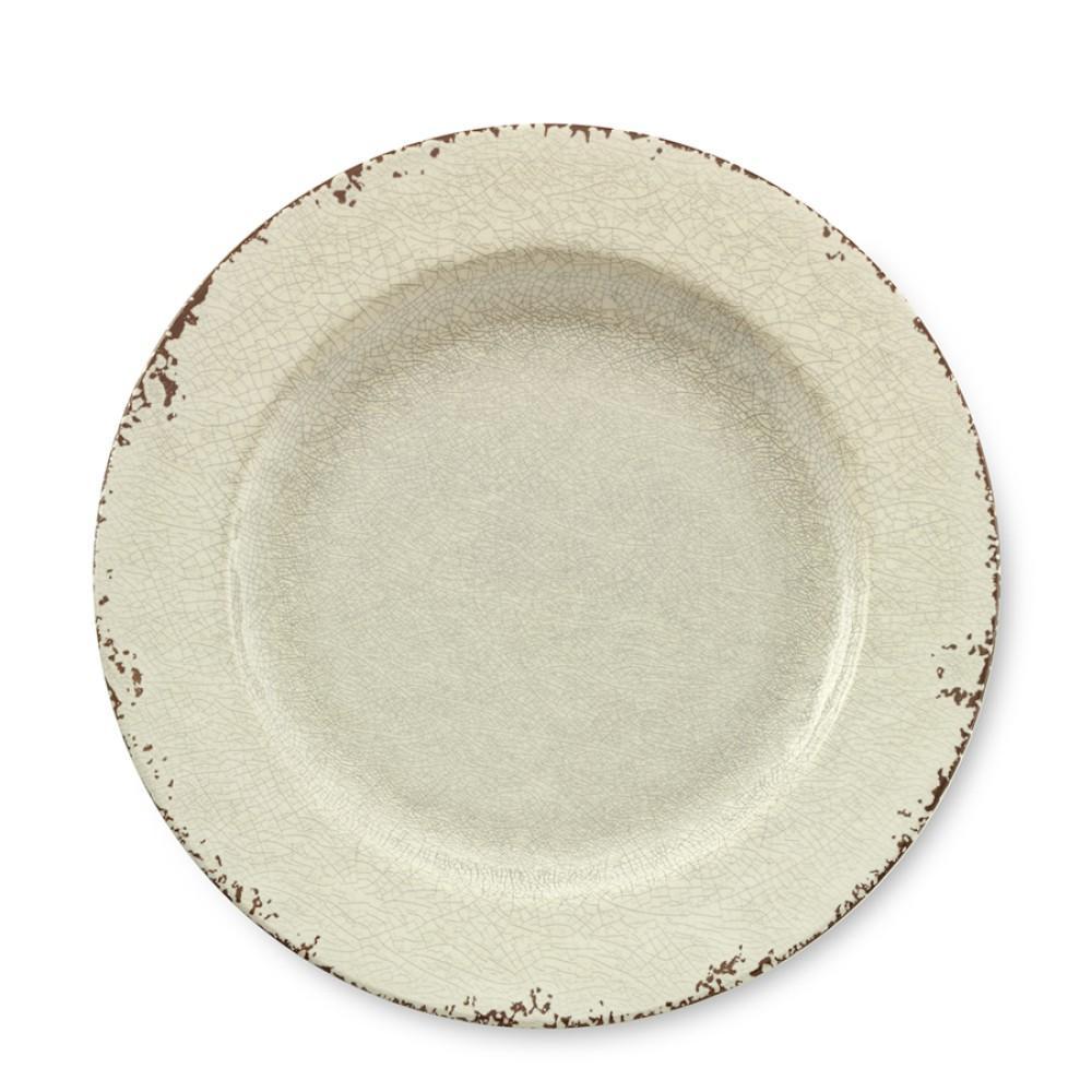 Rustic Melamine Dinner Plate, White | Williams Sonoma AU