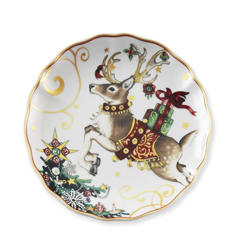 Twas the Night Before Christmas Dinner Plate