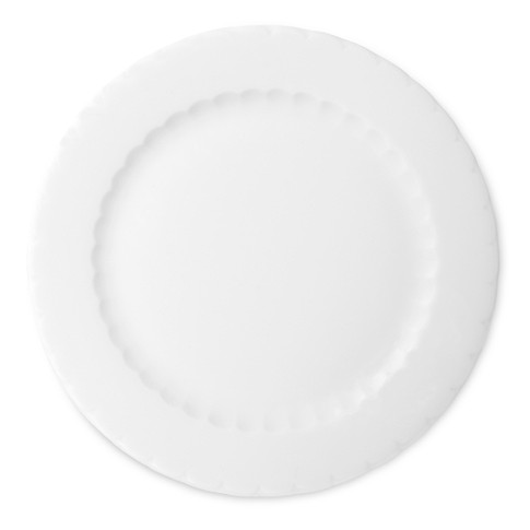 Eclectique Bread & Butter Plate, White