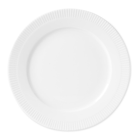 Eclectique Dinner Plate, White