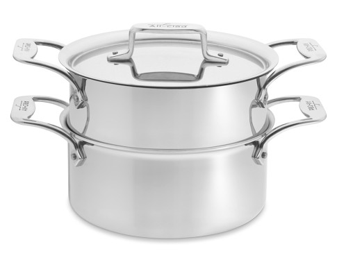 All-Clad d5 Stainless-Steel 3 L. Steamer Set