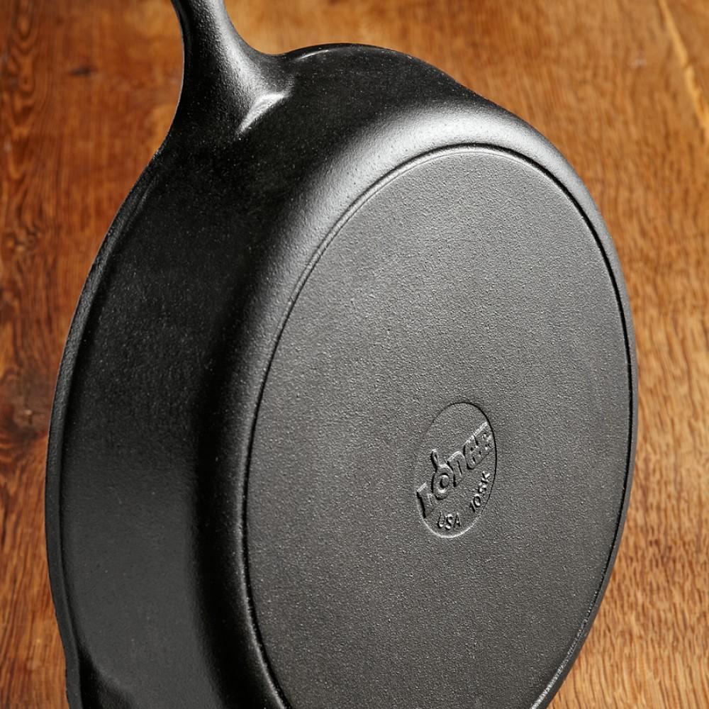 Lodge Round Cast-Iron Fry Pan