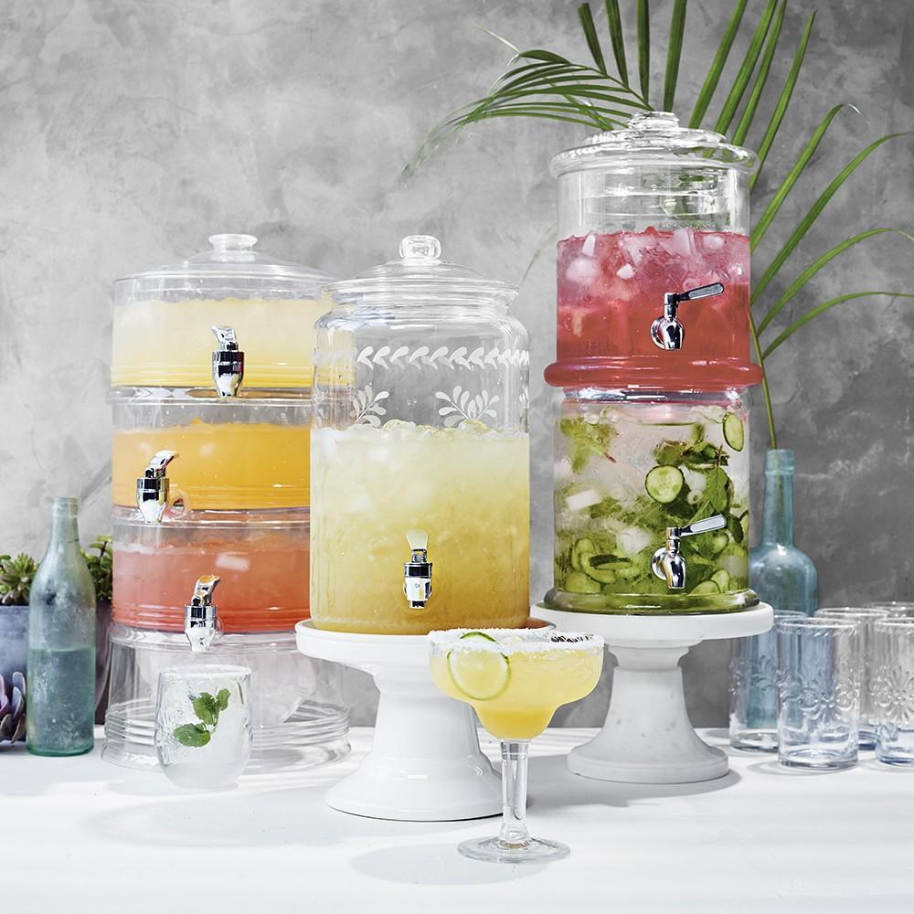 Multi Tier Drinks And Food