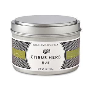Williams-Sonoma Rub, Citrus Herb
