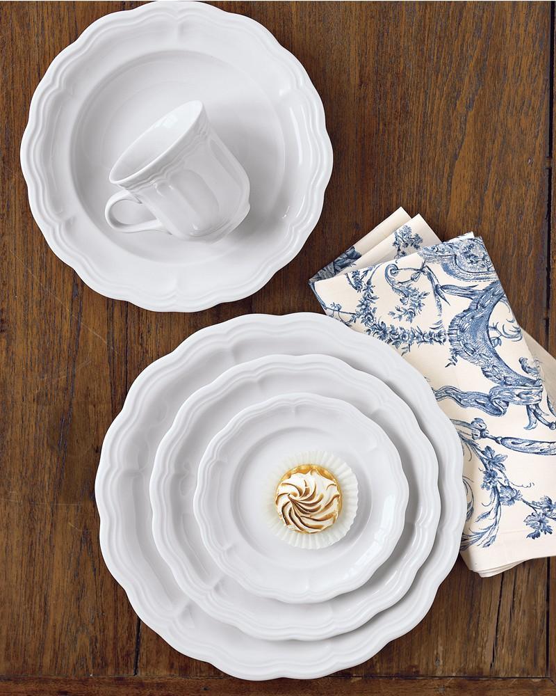 Pillivuyt Queen Anne Porcelain Cup & Saucer