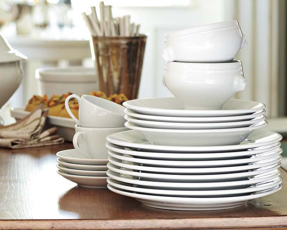 Pillivuyt Coupe Porcelain Dinner Plate