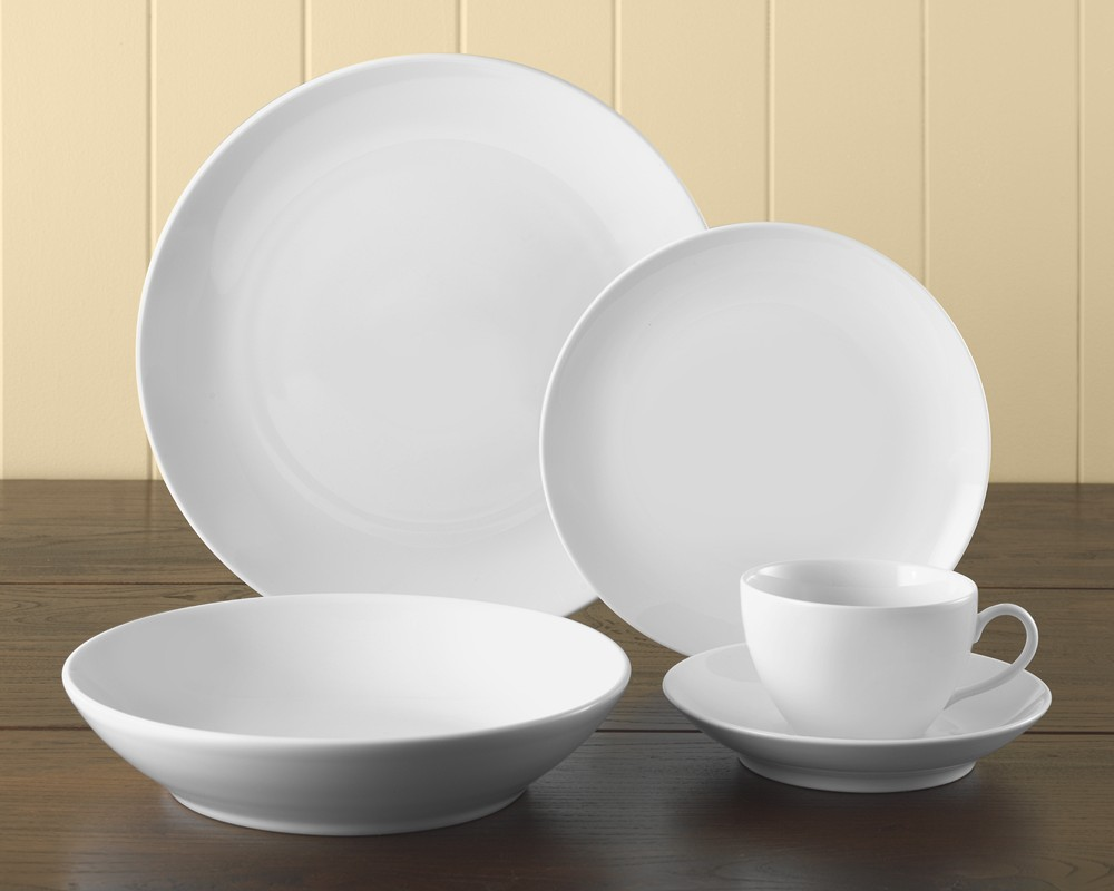 Pillivuyt Coupe Porcelain Dinnerware Collection Williams