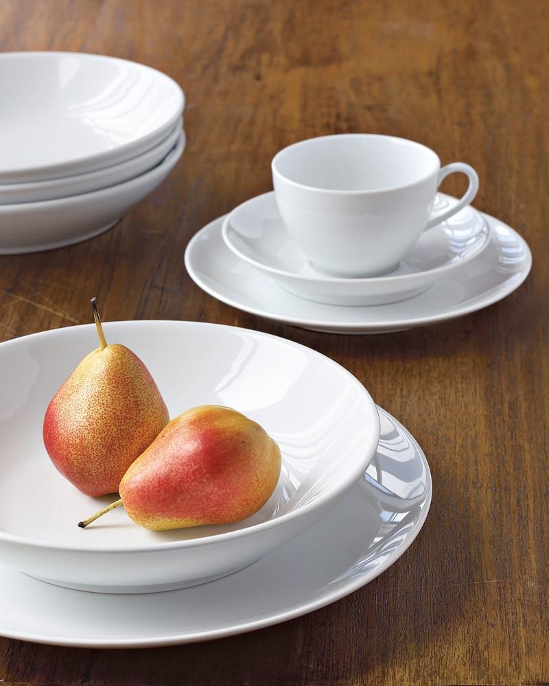 Pillivuyt Coupe Porcelain Cup & Saucer