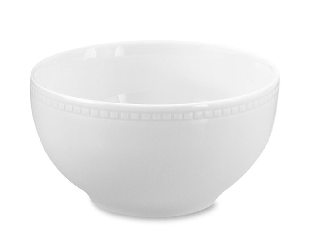 Apilco Beaded Hemstitch Porcelain Cereal Bowl