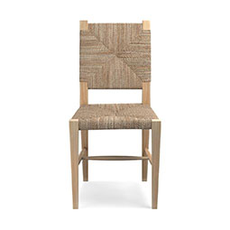 Rutherford Woven Rush Dining Side Chair