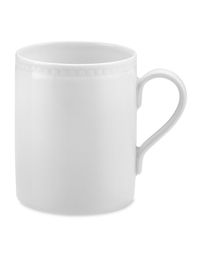 Apilco Beaded Hemstitch Porcelain Mug