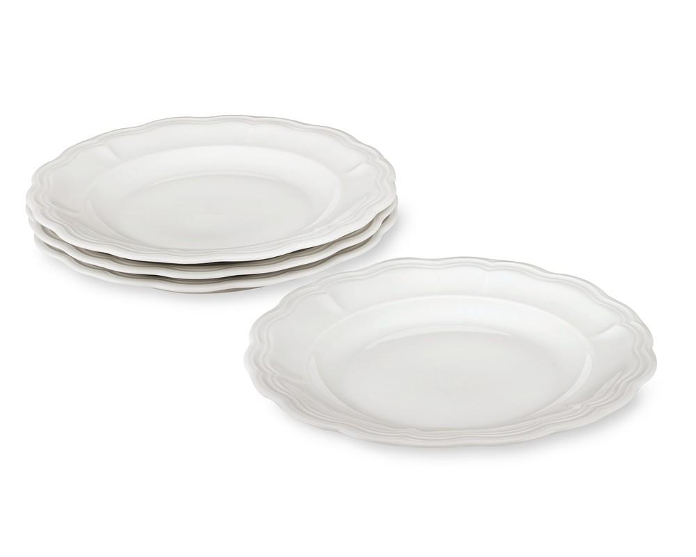 Pillivuyt Queen Anne Porcelain Dinner Plate