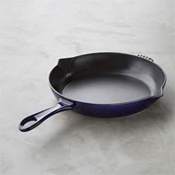 Staub Fry Pan, Sapphire Blue