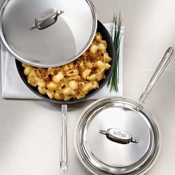 All-Clad d5 Stainless-Steel Nonstick Covered Fry Pan, 30 cm