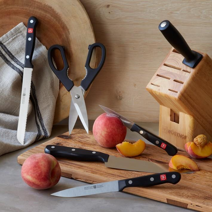Wüsthof Gourmet 7-Piece Knife Block Set