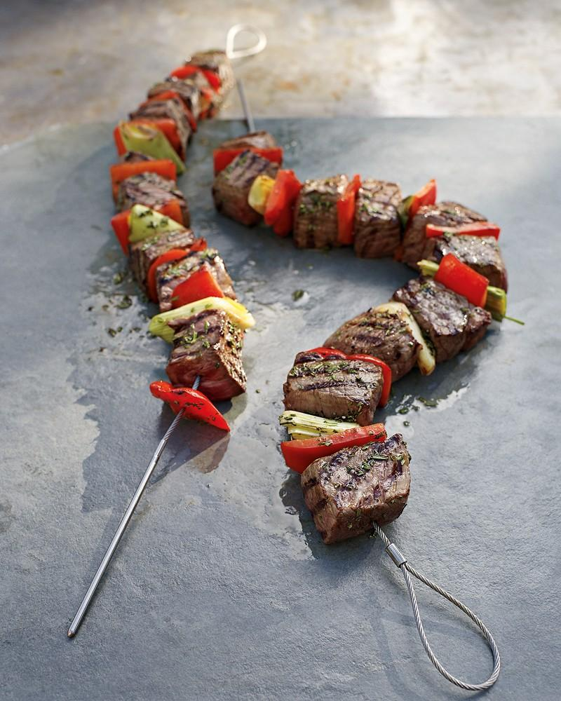 Fire Wire Flexible Grilling Skewers Williams Sonoma Au