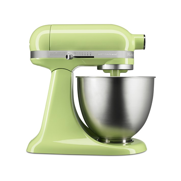 KitchenAid® Artisan Mini Stand Mixer Honey Dew | Williams Sonoma