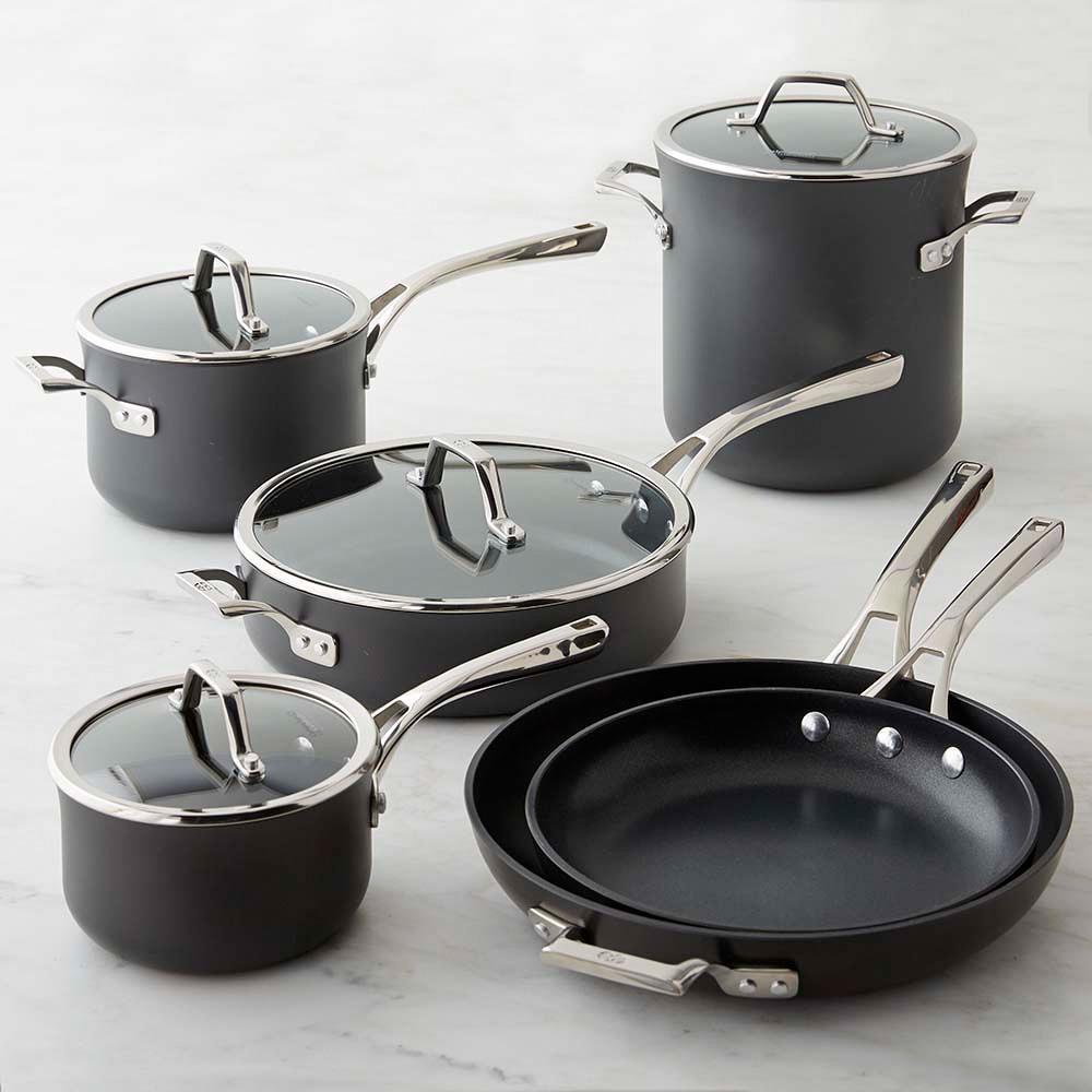 Calphalon Elite Nonstick 10-Piece Cookware Set