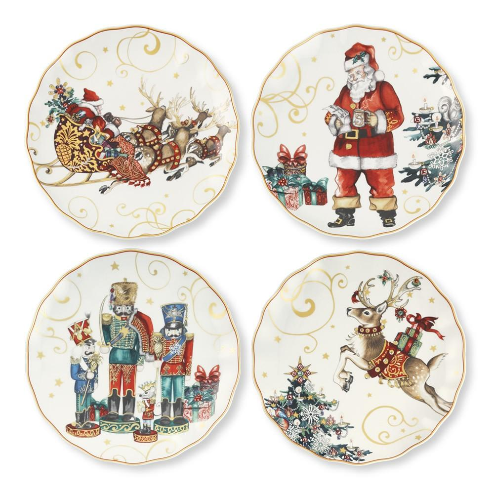 Twas The Night Before Christmas Dinner Plates